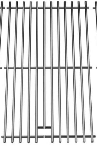 bbqGrillParts Stainless Cookig Grid BY12-084-029-98, BY13-101-001-13, BY14-101-001-04, GBC1255W, GBC1355W, GBC1355W-C, GBC1460W, GBC1462W-C Gas Models