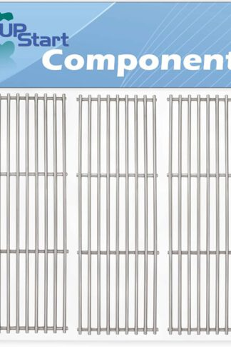 3-Pack BBQ Grill Cooking Grates Replacement Parts for Chargriller 5050, 3001, Duo 5050, 2121, 2828, 9020, 2123, 2222, 3030, 4000, 3008, 5252 - Compatible Barbeque Stainless Steel Grid 19 3/4""