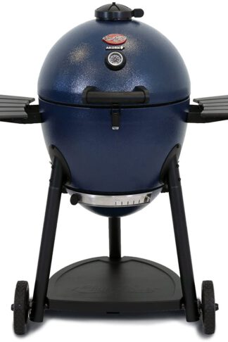 Char-Griller E56720 AKORN Kamado Charcoal Grill, Blue