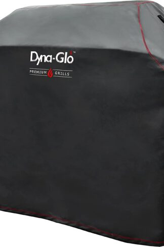 Dyna-Glo DG600C Premium Grill Cover for 64''(162.6 cm) Grills, Black