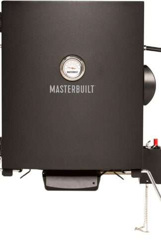 Masterbuilt MB20050116 MPS 20B Patio-2-Portable Propane Smoker, Black