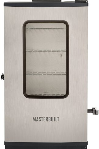 Masterbuilt MB20072418 MES 135S Digital Electric Smoker, 30 in, Stainless Steel