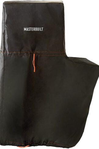Masterbuilt MB20080318 Propane and Pellet Smoker Cover, 40 inch, Black