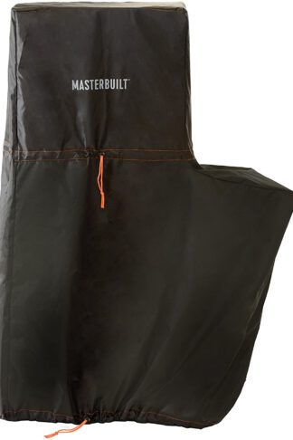 Masterbuilt MB20080419 Propane and Pellet Smoker Cover, 30 inch, Black
