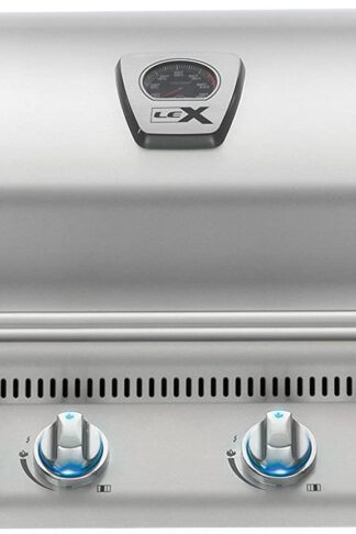 Napoleon LEX 605 Built-In Grill with Infrared Rotisserie (BILEX605RBIPSS), Propane Gas, White