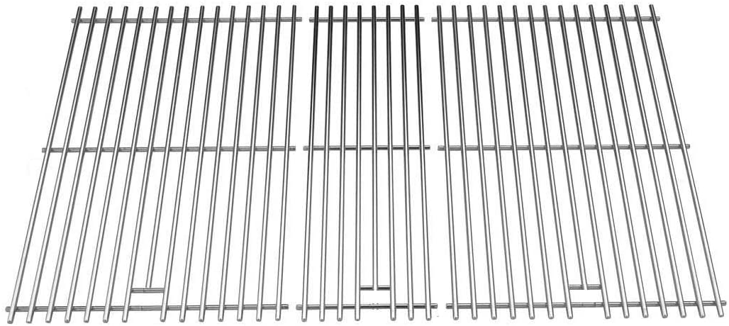 Stainless Steel Cooking Grid Replacement for Members Mark M3206ALP, Grand Cafe, Master Forge 288994 and Kenmore 141.16655900 and Patio Range Gas Grill Models, Set of 3