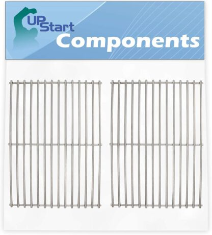 """UpStart Components 2-Pack BBQ Grill Cooking Grates Replacement Parts for Thermos 461246804 - Compatible Barbeque Grid 16 5/8"""""""