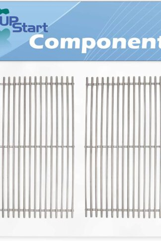 UpStart Components 2-Pack BBQ Grill Cooking Grates Replacement Parts for Weber Genesis ESP-320 LP SS (2007) - Compatible Barbeque Grid 19 1/2""