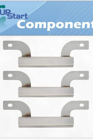 UpStart Components 3-Pack BBQ Grill Burner Crossover Tube Replacement Parts for Brinkmann 810-1415-W - Compatible Barbeque Carry Over Channel Tube
