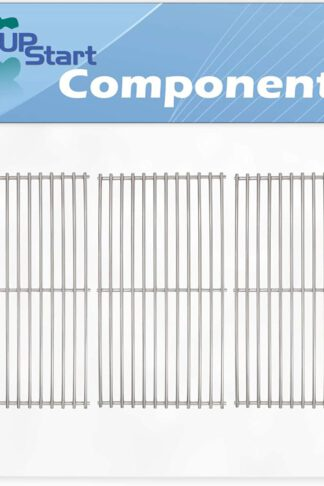 UpStart Components 3-Pack BBQ Grill Cooking Grates Replacement Parts for Members Mark Y0202XCLP - Compatible Barbeque Grid 18 3/4""