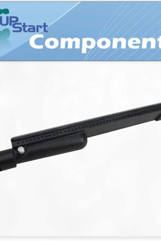 "UpStart Components BBQ Gas Grill Tube Burner Replacement Parts for Jenn Air 740-0165 - Compatible Barbeque 16"" Cast Iron Pipe Burners"