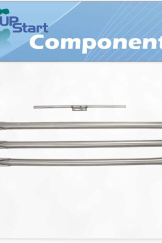 UpStart Components BBQ Grill Burner Tube Set Replacement Parts for Weber 164667 - Compatible Barbeque Stainless Steel Burner Tube Kit 28 1/8""