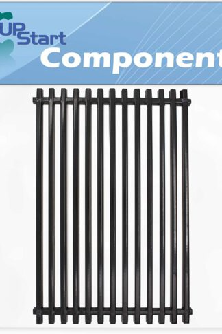 UpStart Components BBQ Grill Cooking Grates Replacement Parts for Weber Platinum 1 2200 LP - Compatible Barbeque Porcelain Coated Steel Grid 17 3/4""