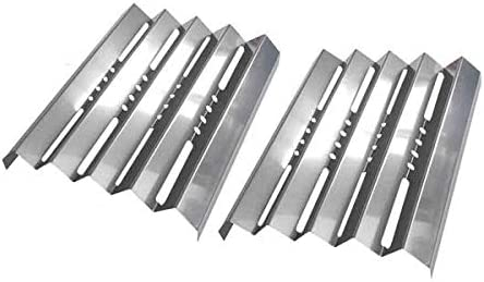 bbqGrillParts Heat Plate for Kenmore 141.153372, 141.153373, 141.15401, 141.1554, 141.155400, 141.157990, 157941, 157950, 157951, 157980, 157981, 157901 Gas Models- 2 Pack