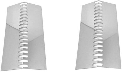 bbqGrillParts Replacement Grill Flame Tamer, Heat Plate BBQ09G03, BBQ08G04, (2-PK) Models