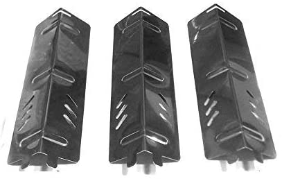 bbqGrillParts Stainless Steel Heat Shield for Backyard BY13-101-001-11 Grill Models- 3Pack