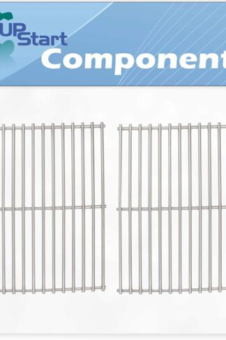 UpStart Components 2-Pack BBQ Grill Cooking Grates Replacement Parts for Weber Genesis Silver A - Compatible Barbeque Stainless Steel Grid 15""