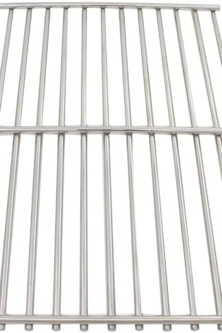 UpStart Components BBQ Grill Cooking Grates Replacement Parts for Weber Spirit 500 NG - Compatible Barbeque Stainless Steel Grid 15""