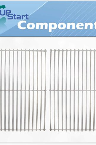 UpStart Components 2-Pack BBQ Grill Cooking Grates Replacement Parts for Charbroil 466248108 - Compatible Barbeque Grid 18 1/4""