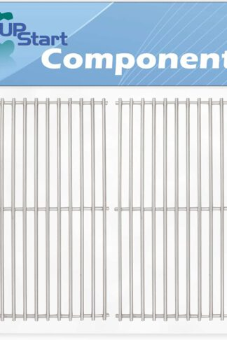 UpStart Components 2-Pack BBQ Grill Cooking Grates Replacement Parts for Kenmore 463420507 - Compatible Barbeque Stainless Steel Grid 16 7/8""