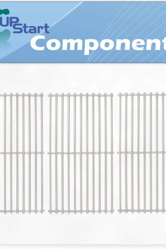 UpStart Components 3-Pack BBQ Grill Cooking Grates Replacement Parts for Kenmore 463420507 - Compatible Barbeque Stainless Steel Grid 16 7/8""