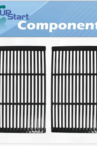 UpStart Components 2-Pack BBQ Grill Cooking Grates Replacement Parts for Charmglow 810-7400-F - Compatible Barbeque Porcelain Enameled Cast Iron Grid 19""