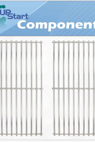 UpStart Components 2-Pack BBQ Grill Cooking Grates Replacement Parts for Charmglow 810-8410-S - Compatible Barbeque Grid 17 3/4""