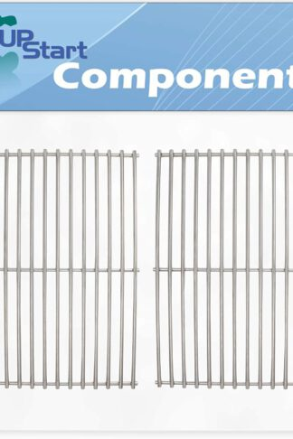 UpStart Components 2-Pack BBQ Grill Cooking Grates Replacement Parts for Kenmore 640-122390-115 - Compatible Barbeque Grid 16 5/8""