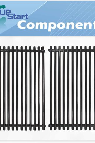 UpStart Components 2-Pack BBQ Grill Cooking Grates Replacement Parts for Kmart 640-82960811-6 - Compatible Barbeque Porcelain Coated Steel Grid 17 3/4""