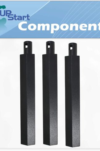 "UpStart Components 3-Pack BBQ Gas Grill Tube Burner Replacement Parts for Jenn Air 730-0163 - Compatible Barbeque 16"" Cast Iron Pipe Burners"