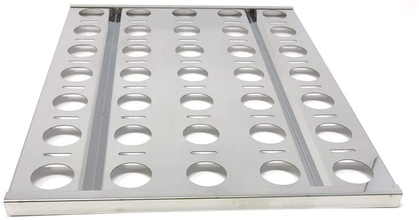 Grill Parts Zone Replacement Heat Plate for AGBQ-30B, AGBQ-30C, AGBQ-30CD, AGBQ-30SZC, AGBQ-42SZC, AGBQ-30 Gas Models - Sold Individually