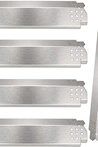 BBQ-Element Grill Heat Plate Shield for Nexgrill 720-0830H, 720-0888N, 720-0888, 720-0864, 720-0896B, Stainless Steel Gas Grill Heat Tent, Burner Cover, Flame Tamer for Members Mark 720-0882D