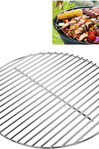 CHARAPID Stainless Steel Grill Grate, Round Cooking Grid for Classic Kamado Grills - 13""