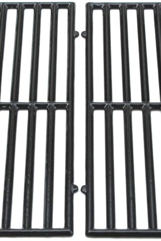 Direct Store Parts DC119 Polished Porcelain Coated Cast Iron Cooking Grid Replacement for Ellipse, ProChef, Vermont Castings and Other Gas Grills