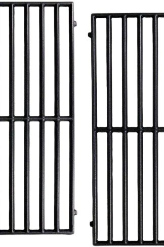 Hongso Cast Iron Cooking Grids Replacement for Vermont Castings, Pro Chef, Ellipse and Kenmore Gas Grills, Set of 2, PCH252