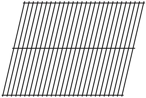 Music City Metals 98501 Steel Wire Rock Grate Replacement for Select Turco Gas Grill Models