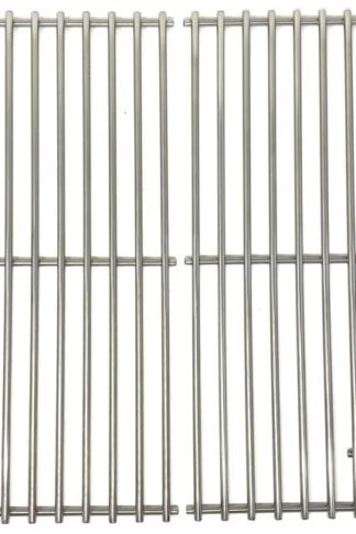Replacement Stainless Cooking Grid for Nexgrill 720-0582B, 720-0649, 720-0691A, 720-0778A, 720-0778C and Grill Chef SS72B, 810-8425-S, GBC1273W Gas Grill Models, Set of 2