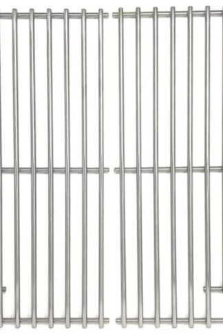Replacement Stainless Steel Cooking Grid for Charbroil 1000, Cooking Zone, Cooking Zone 10002, PGS K40 & Phoenix PG2001-P, PG2001-PBS, SPG2001-P Gas Grill Models, Set of 2