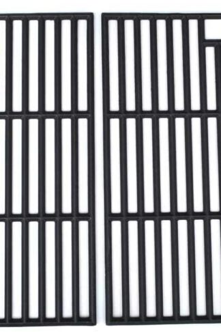 Uniflame GBC1273W, Grill King 810-8425-S, SS72B, 810-8425-S, 810-9490-0, 810-9490-F, BG1755B Cast-Iron Cooking Grid, Set of 2