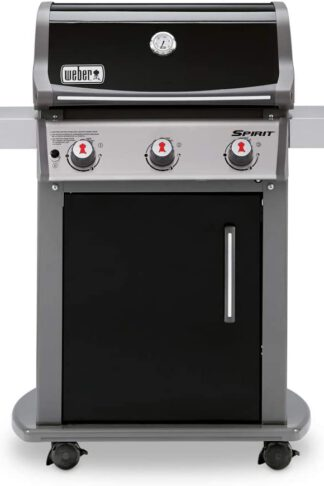 Weber Spirit E-310 Liquid Propane Gas Grill, 46510001 model - Black