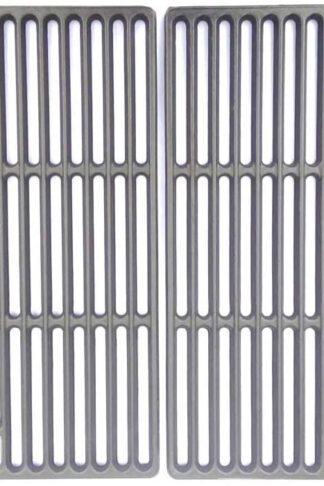 Grill Parts Gallery Replacement Cast Iron Cooking Grid for Select 810-4409-F, BB10769A-1, GSF2818K, 810-3420-W, GSF2818KL-SS-HD, GSF2818KL, LA300RBNSS, BB10367A, SLG2007B, DXH8303, Set of 2