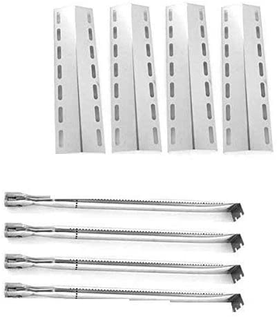 Nexgrill 720-0133 Replacement Grill Kit - Stainless Steel 4 Burners & 4 Stainless Steel Heat Plates