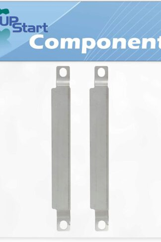 UpStart Components 2-Pack BBQ Grill Burner Crossover Tube Replacement Parts for Kenmore 415.16123801 - Compatible Barbeque Carry Over Channel Tube