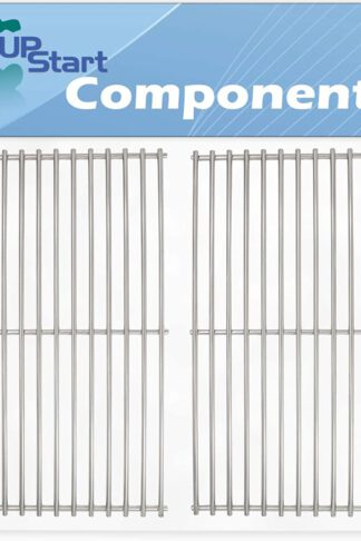 UpStart Components 2-Pack BBQ Grill Cooking Grates Replacement Parts for Centro 85-1211-0 (2004) - Compatible Barbeque Grid 18 3/4""