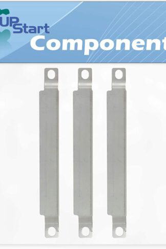 UpStart Components 3-Pack BBQ Grill Burner Crossover Tube Replacement Parts for Kenmore 415.16128010 - Compatible Barbeque Carry Over Channel Tube