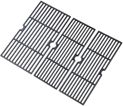 Grill Valueparts Grill Replacement Parts for Charbroil 463377319 Grill Grates 463376319 463376519 463376819 463376619 Performance 4 Burner Char-Broil Cooking Grate G470-0003-W1 G470-0002-W1