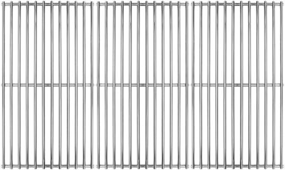 Hongso 18.75 inch SUS304 stainless steel gas grill grates replacement for Sams Member Mark,Charbroil,Jenn-Air,Grand Hall,G601-0015-9000.SCD453