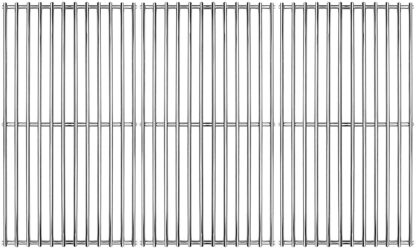 """Hongso 19 1/4"""" Stainless Steel Cooking Grid for Gas Grill Brinkmann, Charmglow, Costco, Jenn Air, Members Mark, Nexgrill, Perfect Flame and Other Grill Grates Replacement, 3 Pieces SCI1S3"""