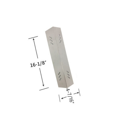 STAINLESS STEEL REPLACEMENT HEAT SHIELD FOR BBQ PRO BQ05041-28, BQ51009 GAS GRILL MODEL